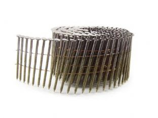 2.1 x 38mm Galvanised Ring Flat Coil Nails (16,000)